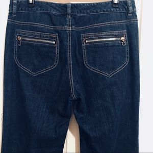 Michael Kors jeans zipper pockets sz 8